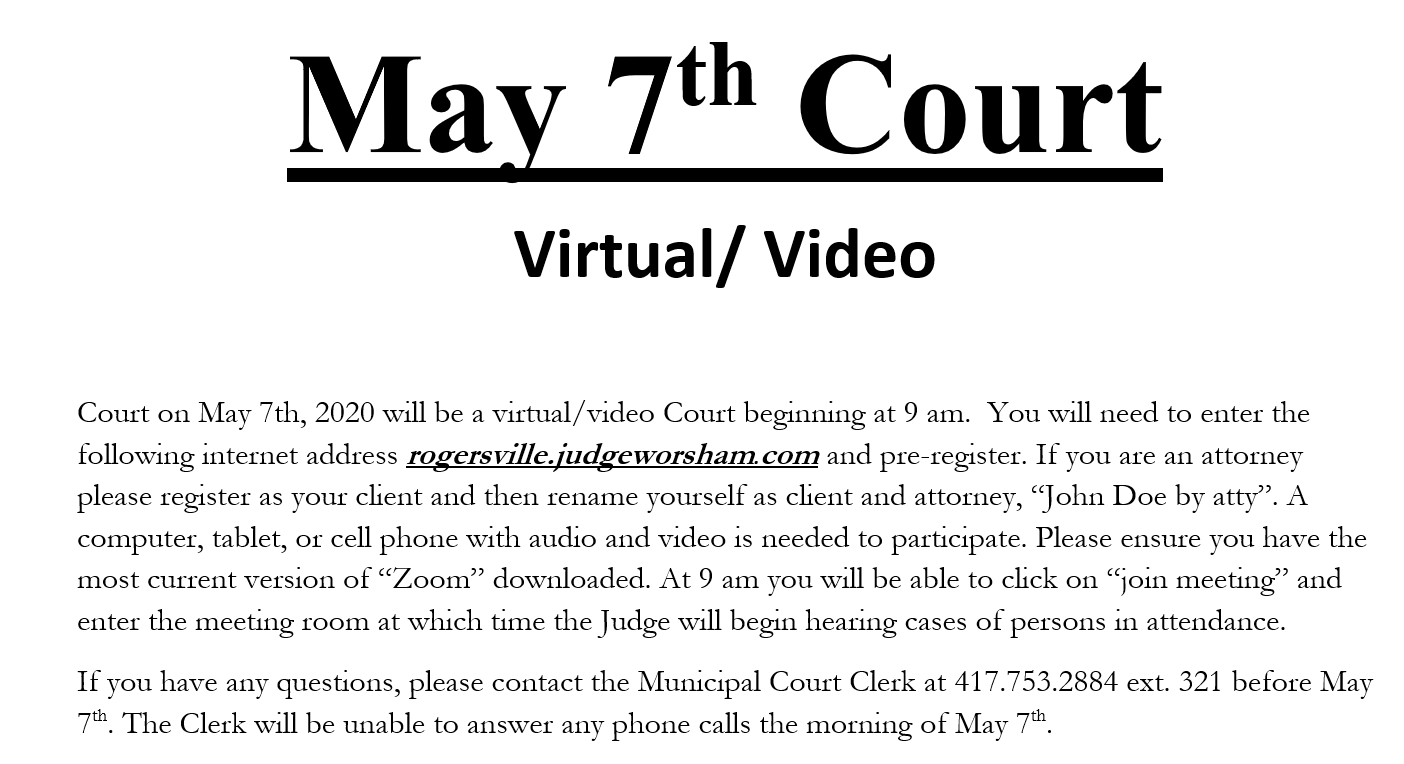 May 7th Court
