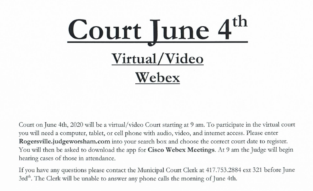 Court June 4th