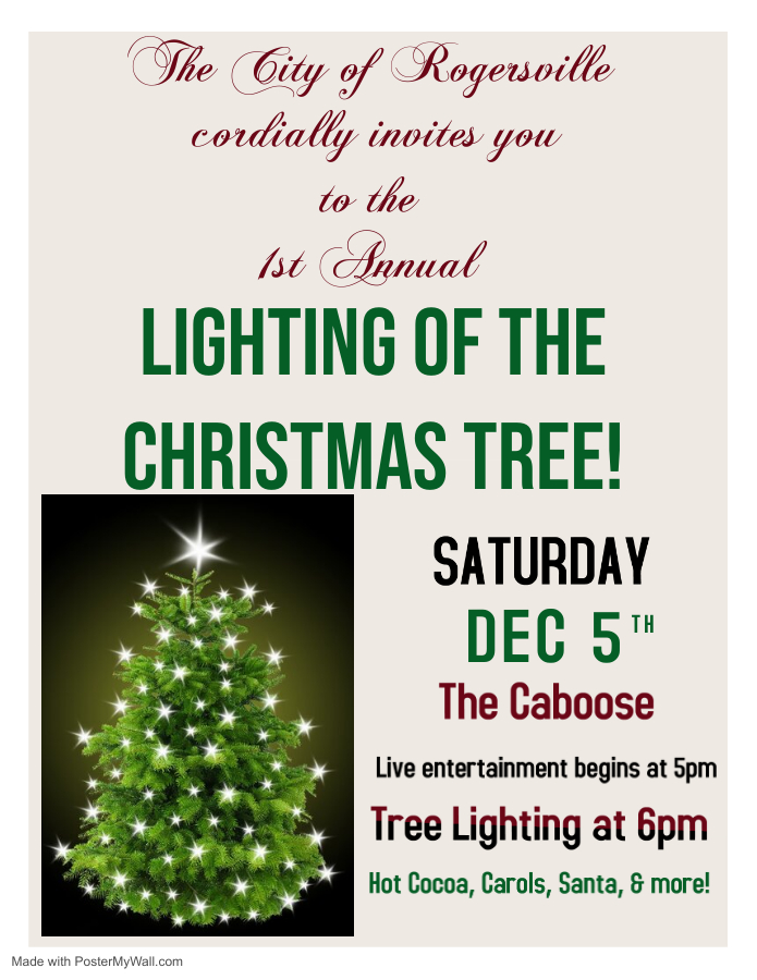 Christmas Tree Lighting 12-5