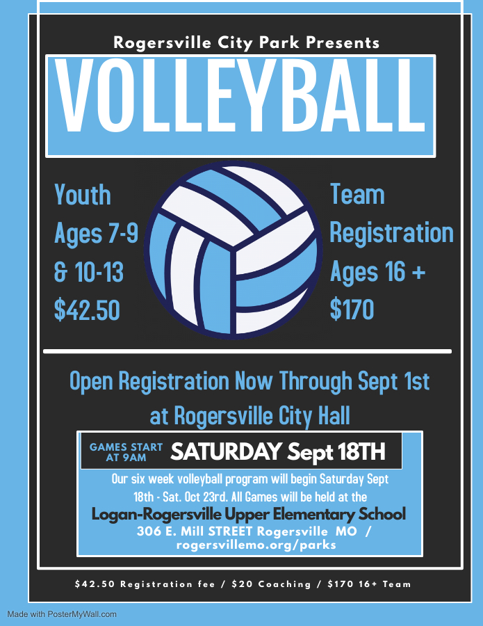 Fall 21 Volleyball Flyer